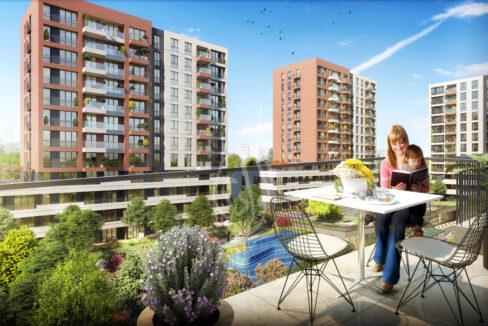 شقة-اسطنبول-تركيا